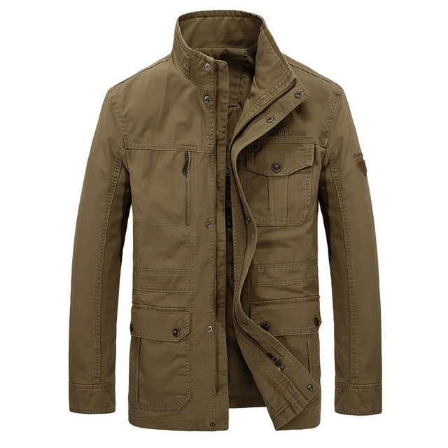 Military Jacket for Men Cotton High Quality
