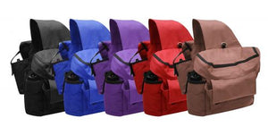 Showman Insulated Saddle Bags with Water Bottle - ReRide Consignment