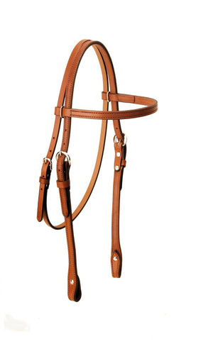 Tory Leather Browband Headstall-Western Bridle-Tory Leather-ReRide Consignment LLC