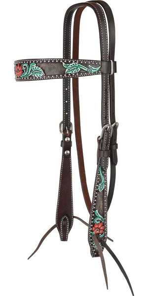 Circle Y Cactus Flower Filigree Browband - ReRide Consignment