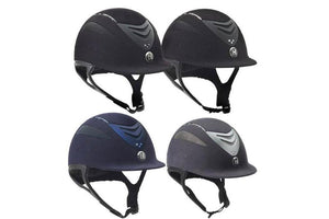 One K Defender Suede Bling Helmet with Swarovski Stones - ReRide Consignment
