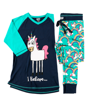 Lazy One Unicorn PJ Pants Set - ReRide Consignment