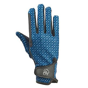 Ovation Cool Rider Gloves- Teal - ReRide Consignment