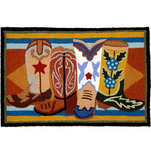Western Boots Rug - ReRide Consignment
