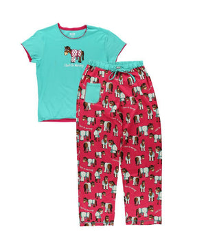 Lazy One I Don't Do Mornings PJ Pants Set - ReRide Consignment