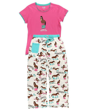 I Need My Booty Sleep PJ Pants Set-PJs-Lazy One-XS-ReRide Consignment LLC