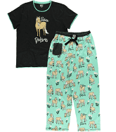 Lazy One Pasture Bedtime Mint PJ Pants Set - ReRide Consignment
