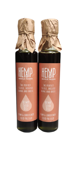 Hemp Seed Oil (2 Bottles)