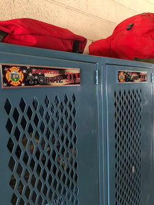 Personalized Locker Tags