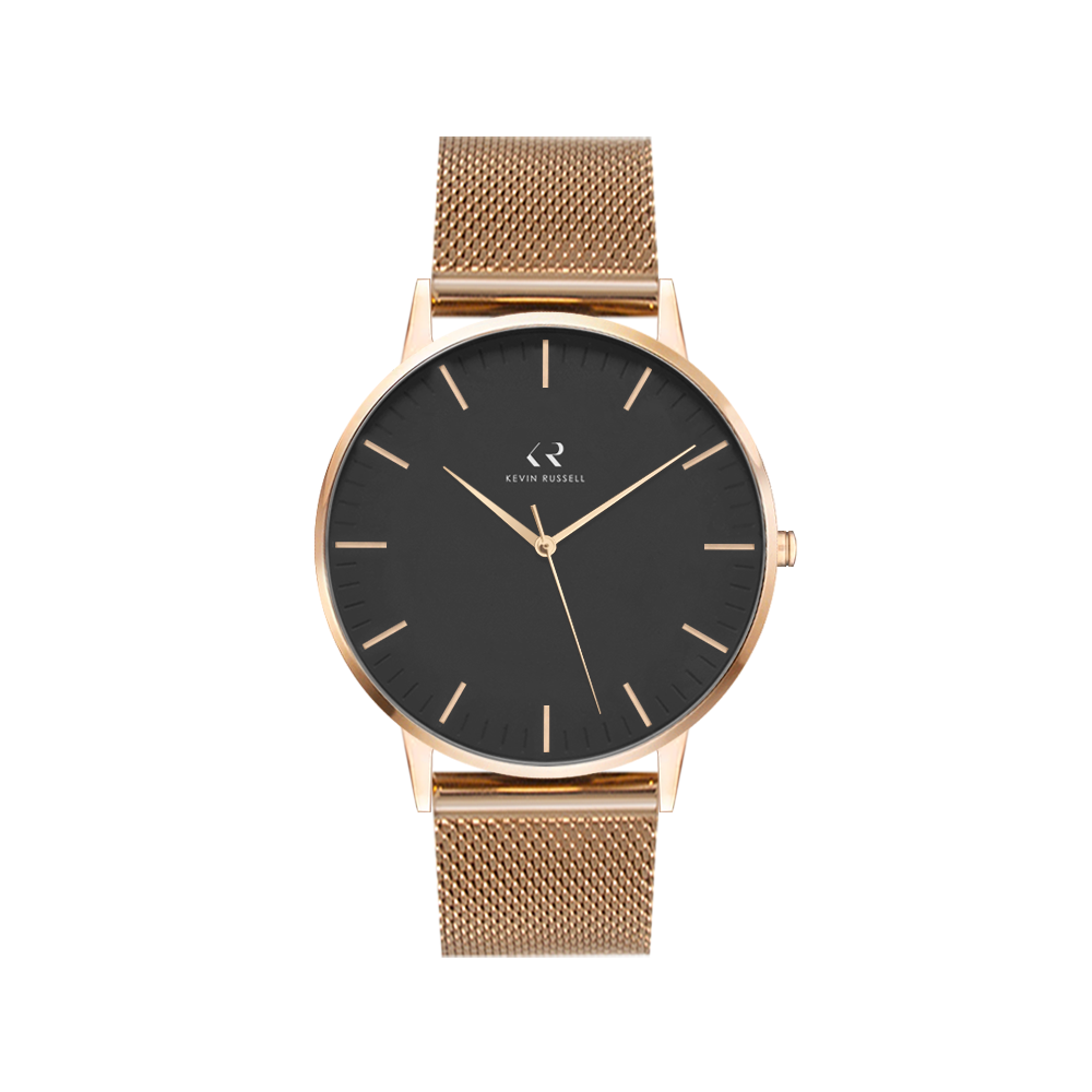 "<h1 style=""color:black;font-size:18px;"">ROSEGOLD BLACK / MESH<br> <h1 style=""color:grey;font-size:16px;"">36MM</h1>"