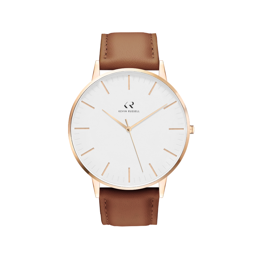 "<h1 style=""color:black;font-size:18px;"">ROSEGOLD WHITE / BROWN LEATHER<br> <h1 style=""color:grey;font-size:16px;"">40MM</h1>"
