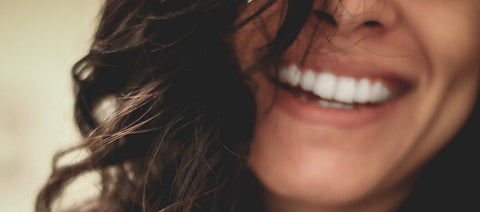 Close up of woman smilling
