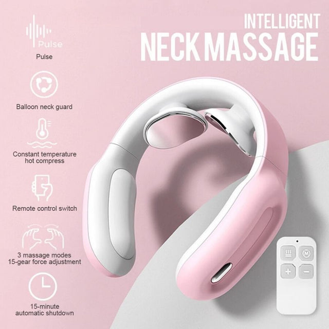 Pink Neck Massager
