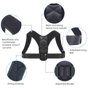 Image showing features of posture corrector by leBoosh!
