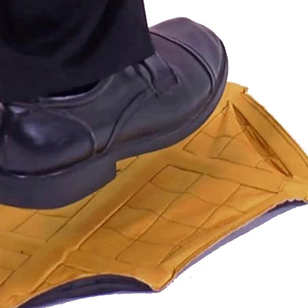 Hands Free Step On and Snap On Shoe Covers