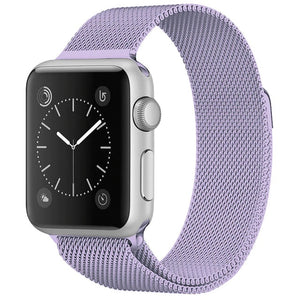 Stainless Steel Bracelet Band with Milanese Loop | Compatible with Apple Watch