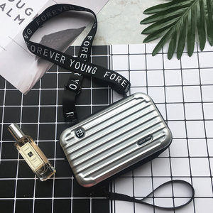 Mini Suitcase Shaped Crossbody Handbag & Clutch | Special Edition
