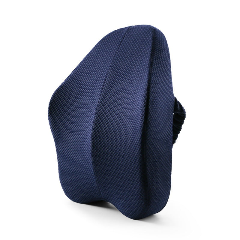Ergonomic Lumbar and Back Support Cushion - navy