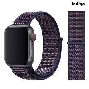 Nylon Sport Loop Band | Compatible with Apple Watch