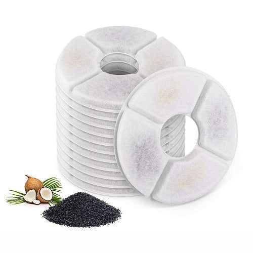 Twelve pieces of carbon filter