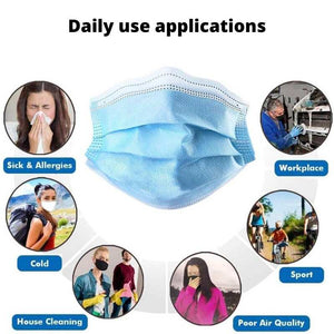 Disposable Breathable Mask | Household Use