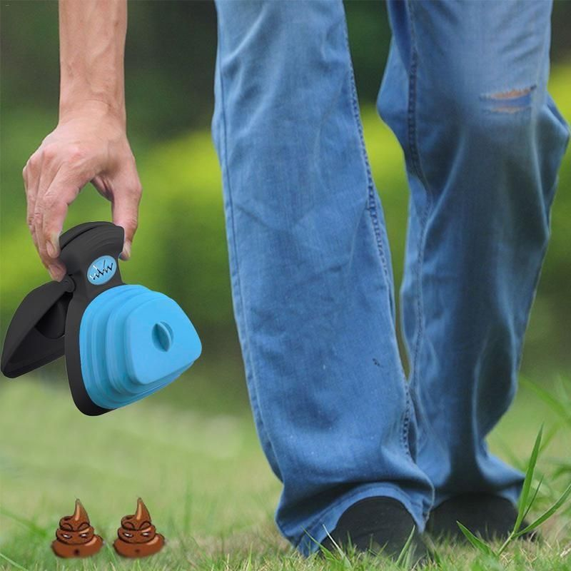 Hands Free Expandable Pooper Scooper for Dogs