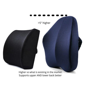 Ergonomic Lumbar and Back Support Cushion is higher than competitors