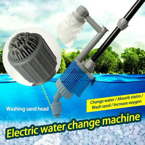 Fish Tank Cleaner | Gravel Vacuum | 20W, 12V DC