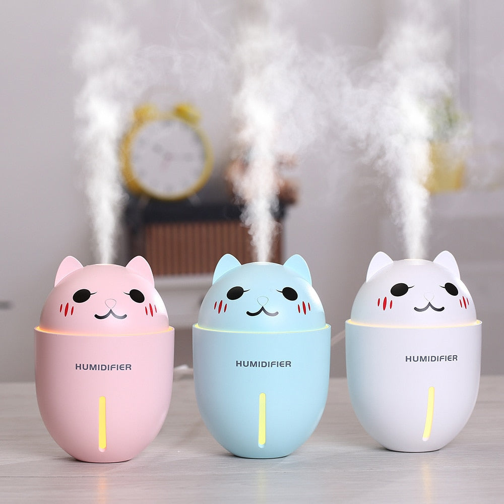 Kawaii Cat Versatile Humidifier