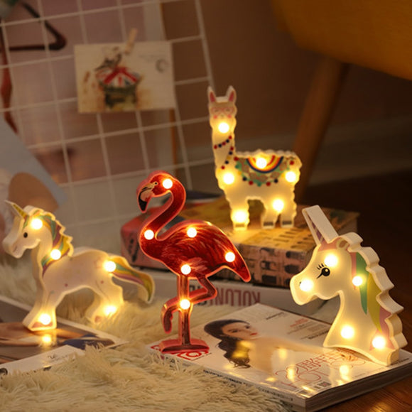 Unicorn & Friends Comfort Night Lights for Kids