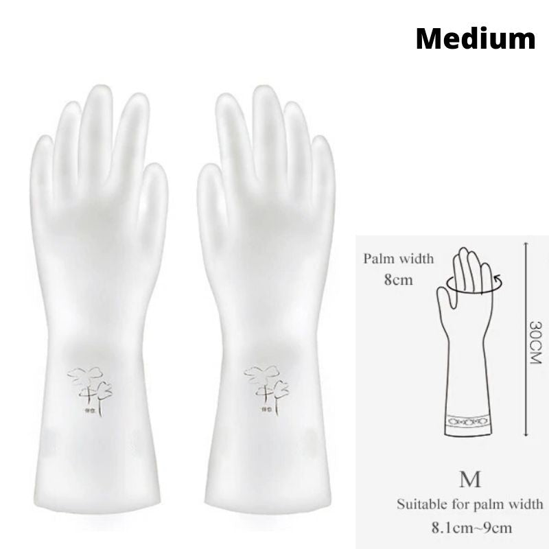 Wear Resistant Household Kitchen Glove | Nitrile | 3 Pairs