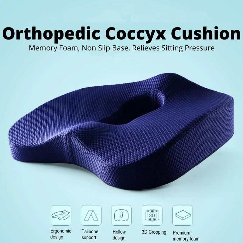 Orthopedic Coccyx Cushion features