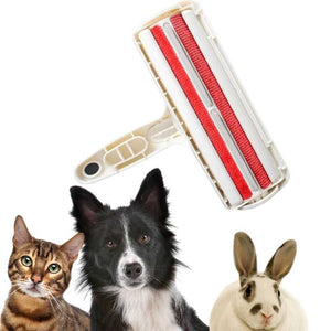 Pet hair remover for dogs, cats, rabbits