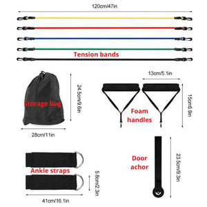 Measurements of the 11pc resistance band set