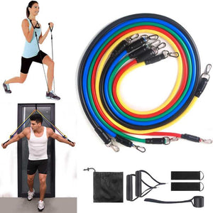 Resistance bands, workout at home, exercise bands