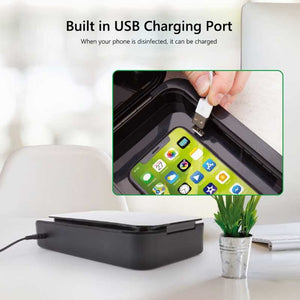 Phone Sanitizer cum Charger | UV-C Sterilizer Box for Phone and Household Items