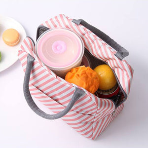 Insulated Lunch Bag, bowling bag shaped, oxford cloth, aluminium lined on the inside, perfect for 1 person lunch bag, keep items cold/warm.