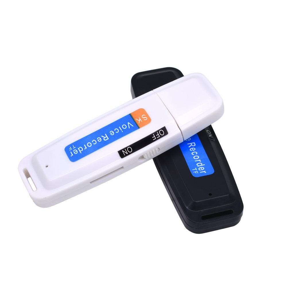 USB shaped voice recorder. Records up to 5 hours continuously. Fuss free, easy to use.