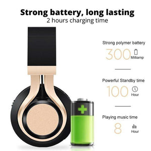 long lasting strong battery for wireless headphones