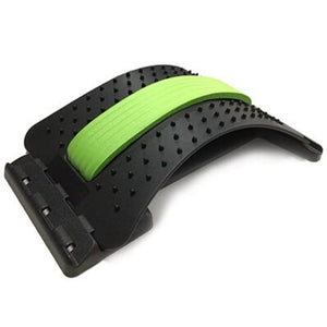 Back Stretcher & Spine Corrector with green middle foam