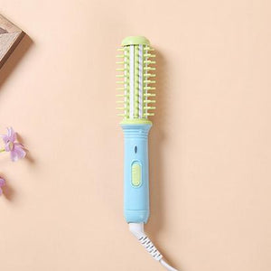 Green Blue Cutesy Mini Curling & Volumizing Brush