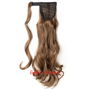Clip In Ponytail Hair Extension in light brown