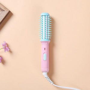 Blue Pink Cutesy Mini Curling & Volumizing Brush