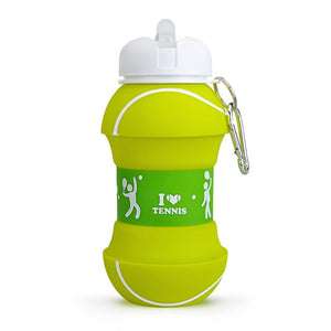 Kids Water Bottle with Spout | Collapsible | BPA Free Silicone | 19oz