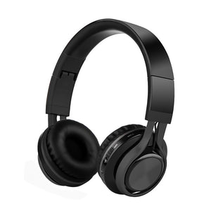 bluetooth headphone, black headphone