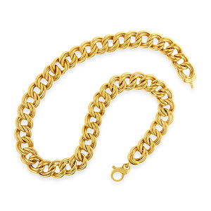 Yellow Double Link Necklace