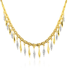 Load image into Gallery viewer, Cleopatra Necklace with diamonds