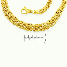 Load image into Gallery viewer, Byzantine Necklace in Gold Plated Sterling Silver