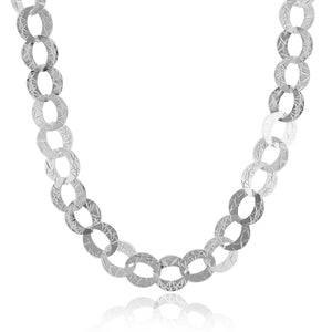 Oval Link Sterling Silver Chain