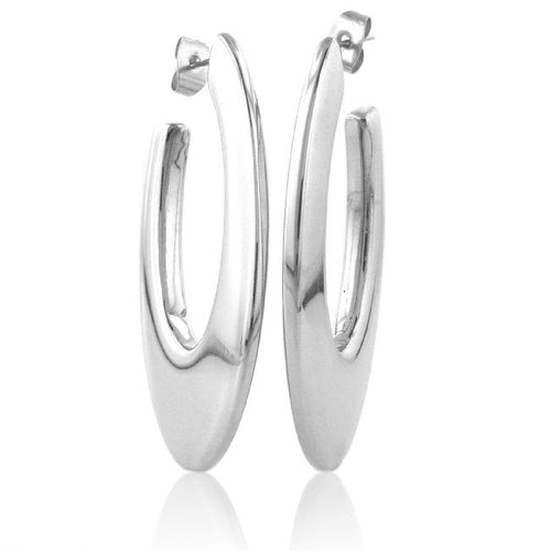 Fabulous fashion Stainless Steel Hoop Earrings